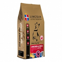 LINCOLN PUPPY CHICKEN & RICE 12kg
