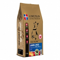 LINCOLN SMALL ADULT LAMB & RICE 12kg