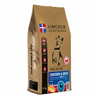 LINCOLN ADULT CHICKEN & RICE 12kg