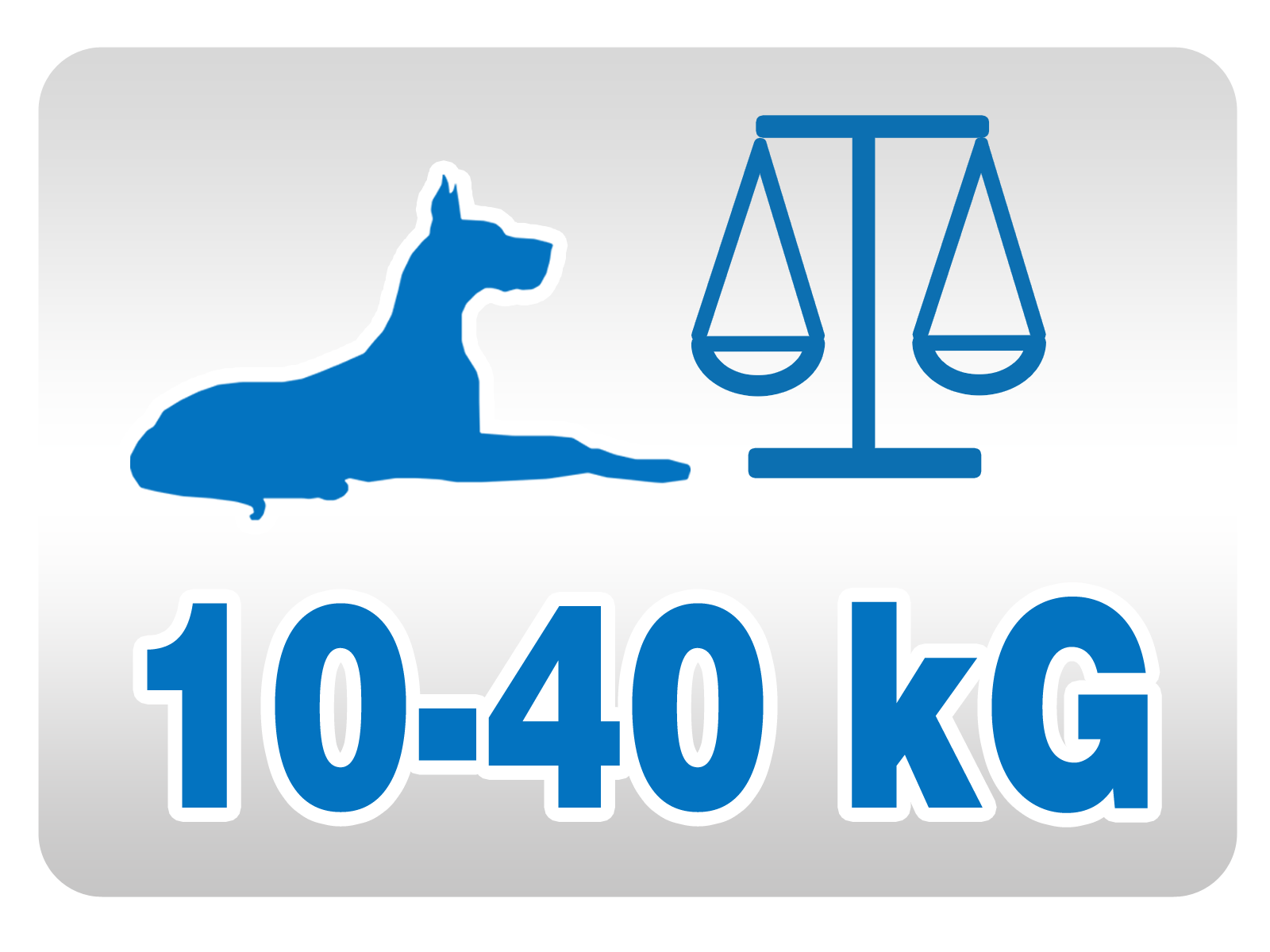 Sistem je namenjen srednje velikim in velikim psom
