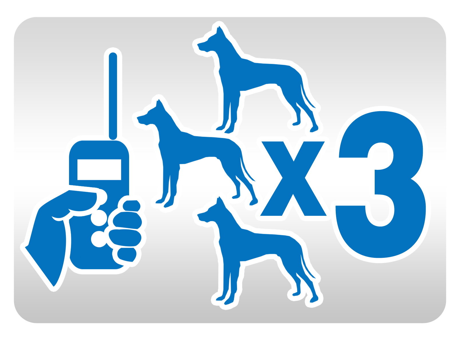 Maksymalna ilość podłączonych psów.